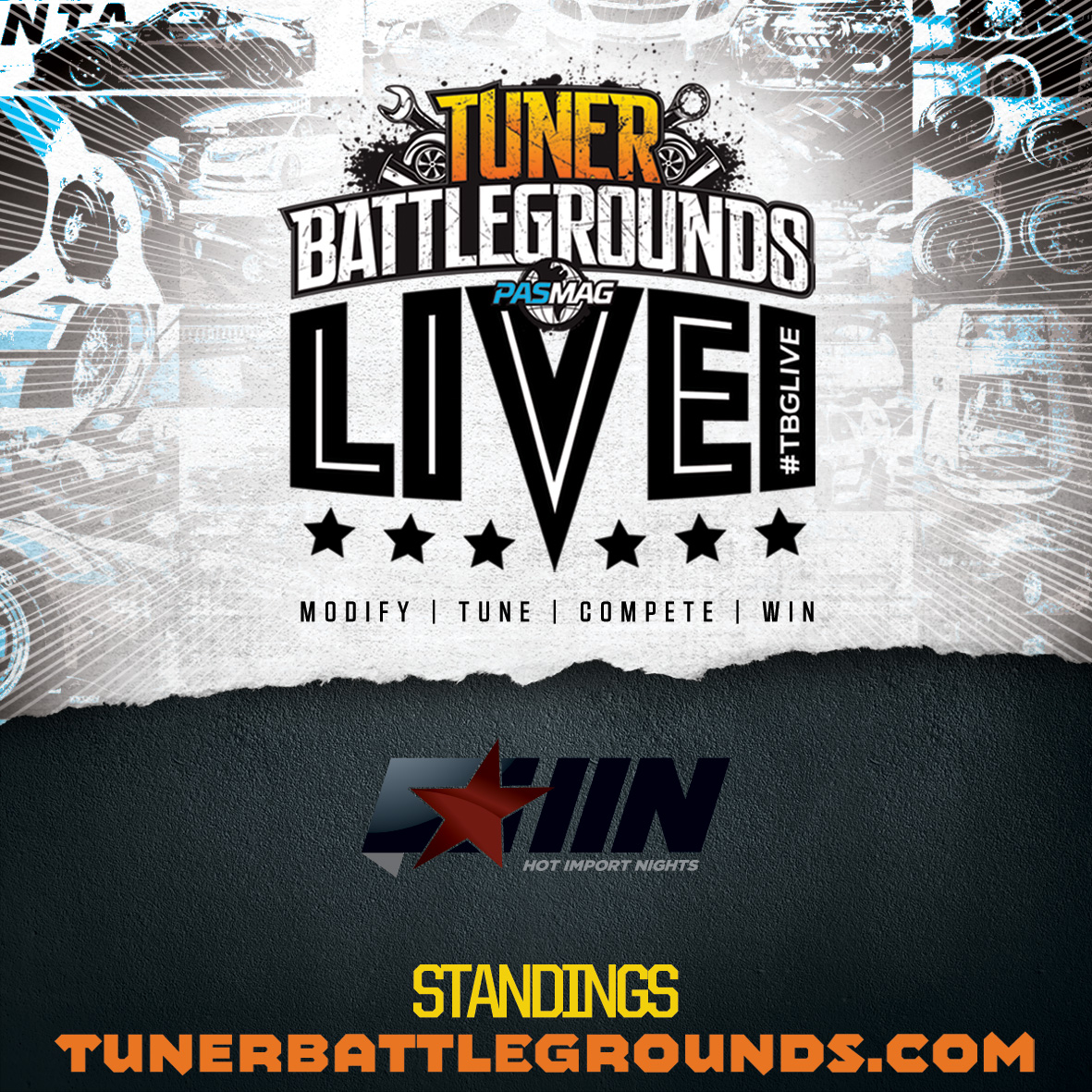 TBGLIVE HIN Standings