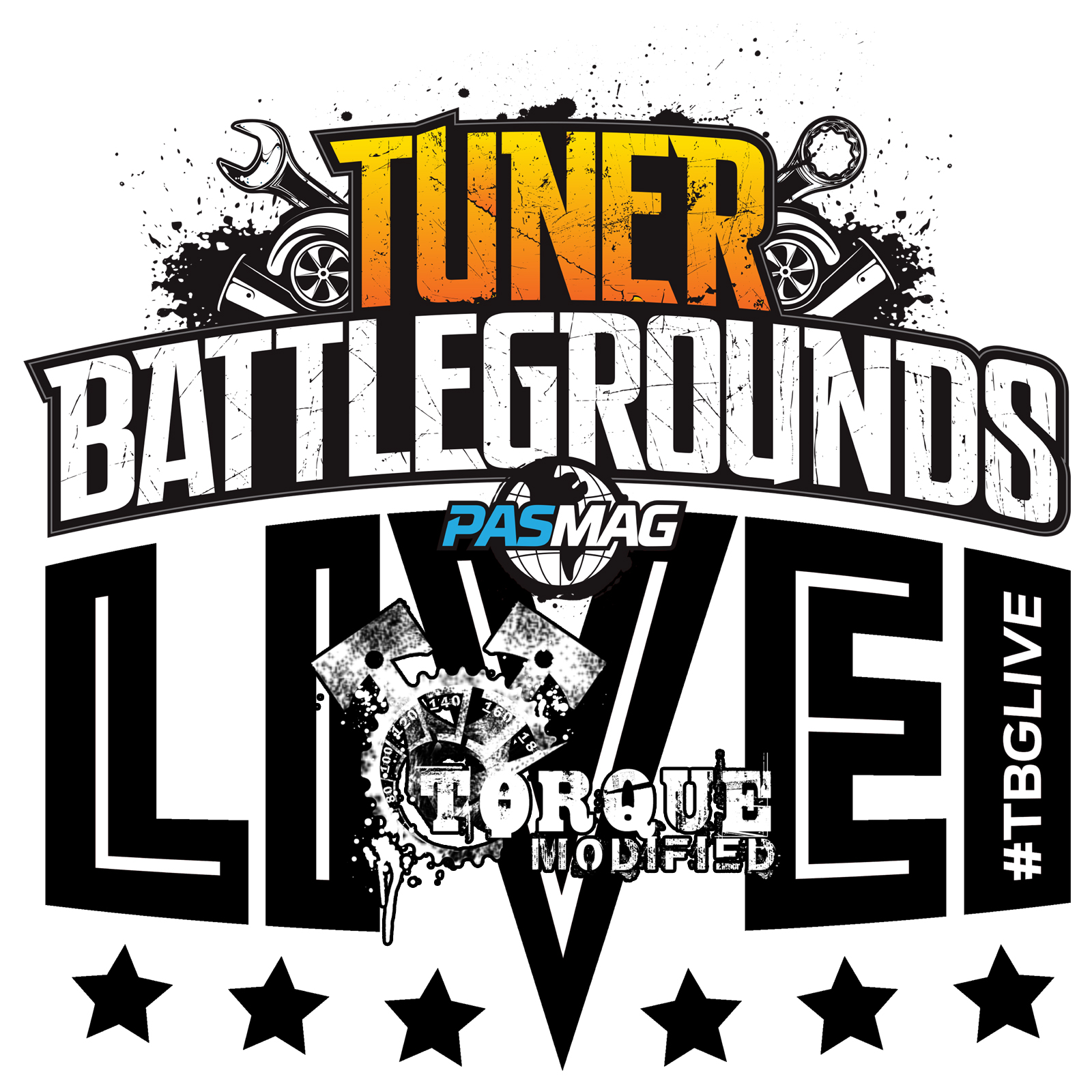 Tuner Battlegrounds TBGLIVE Logo Torque Modified 2016