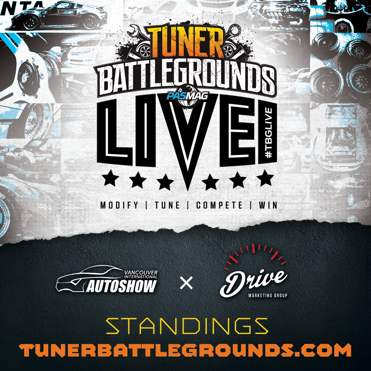 Tuner-Battlegrounds-TBGLIVE-Event-Partner-VIAS-2016-Standings