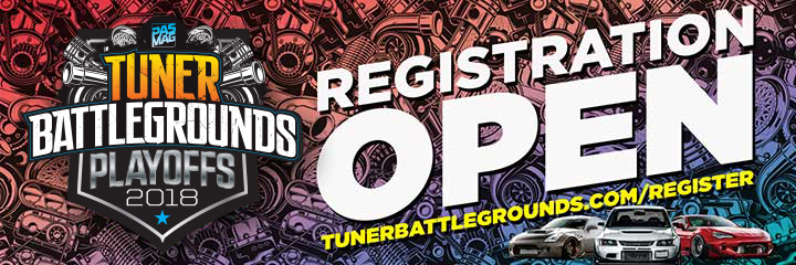 2018 Tuner Battlegrounds Playoffs TW REG Open 720x240