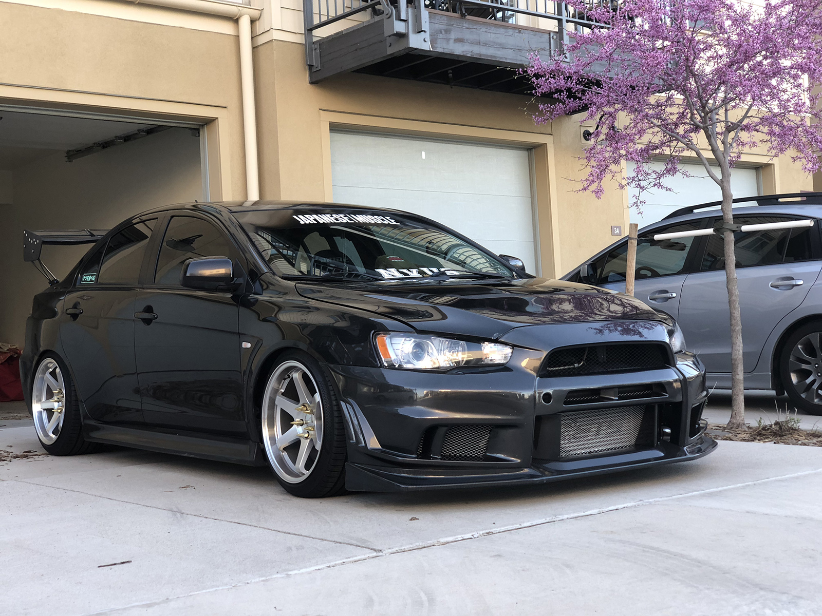 Axel Dominick Howard 2011 Mitsubishi Lancer Evolution TBGLIVE2