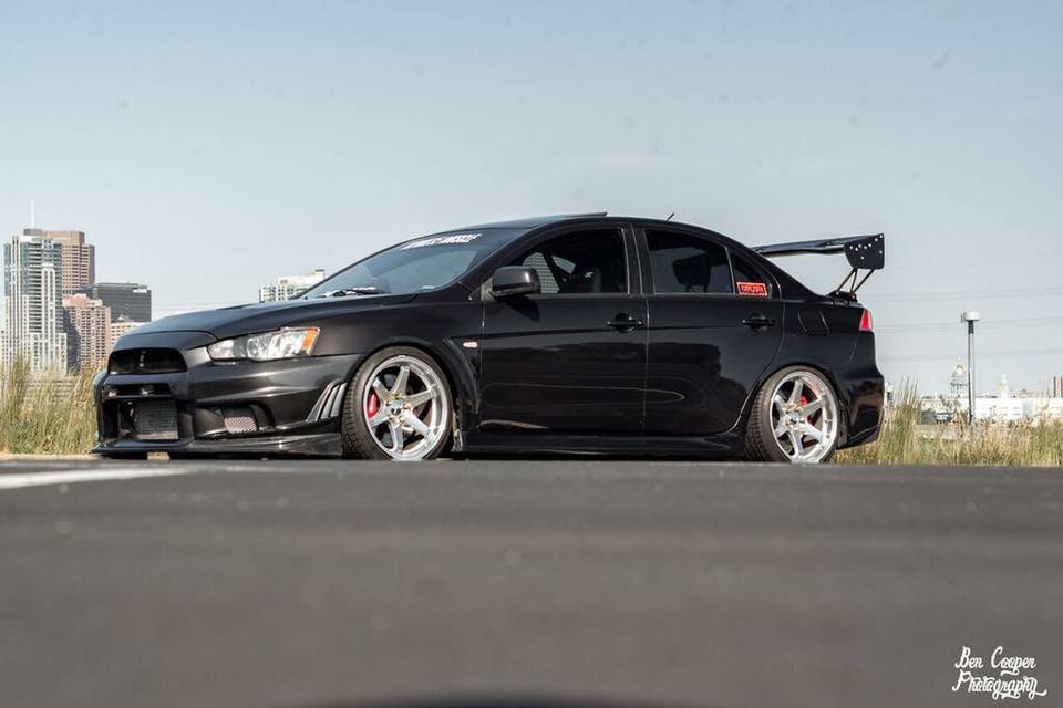 Axel Dominick Howard 2011 Mitsubishi Lancer Evolution TBGLIVE3