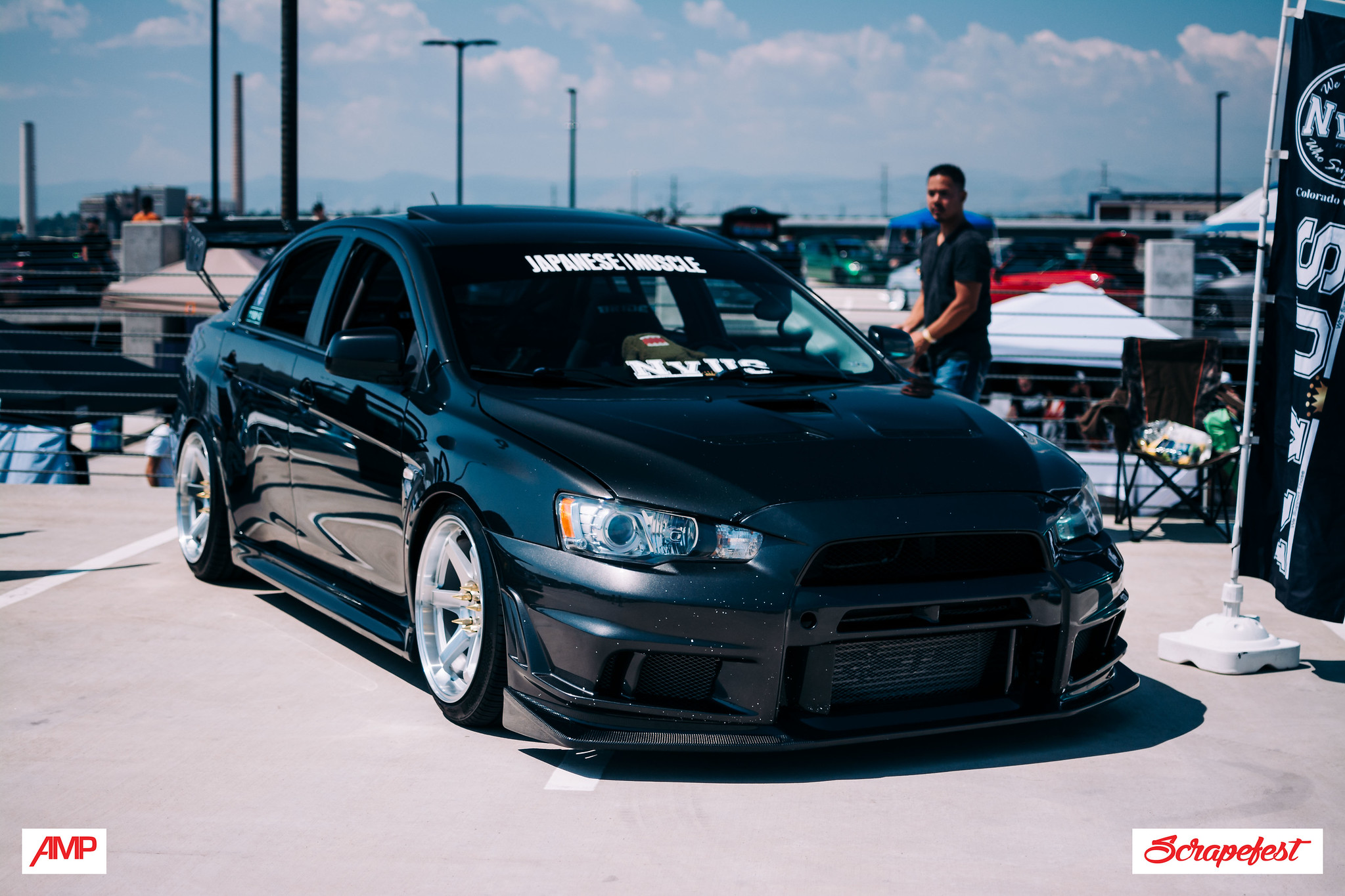 Axel Dominick Howard 2011 Mitsubishi Lancer Evolution TBGLIVE5