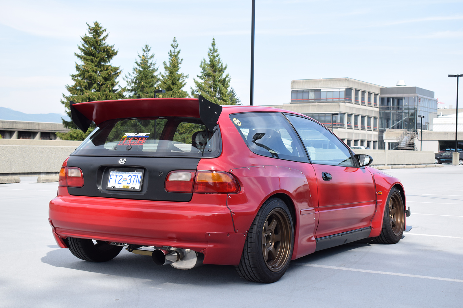 Calvin Lee 1993 Honda Civic Si TBGLIVE2
