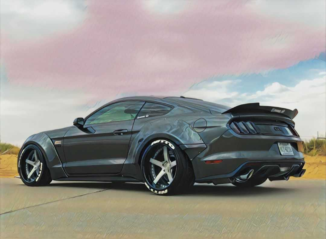 08 Justin Bordier 2016 Ford Mustang GT pasmag tuner battlegrounds