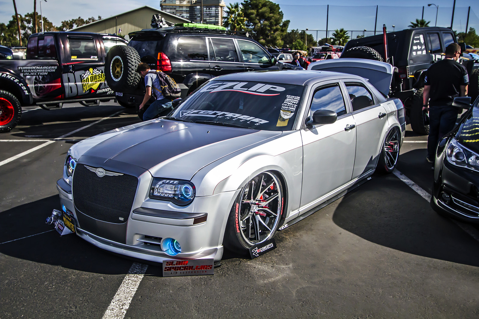 02 Manny Diaz 2007 Chrysler 300C Hemi PASMAG Tuner Battlegrounds