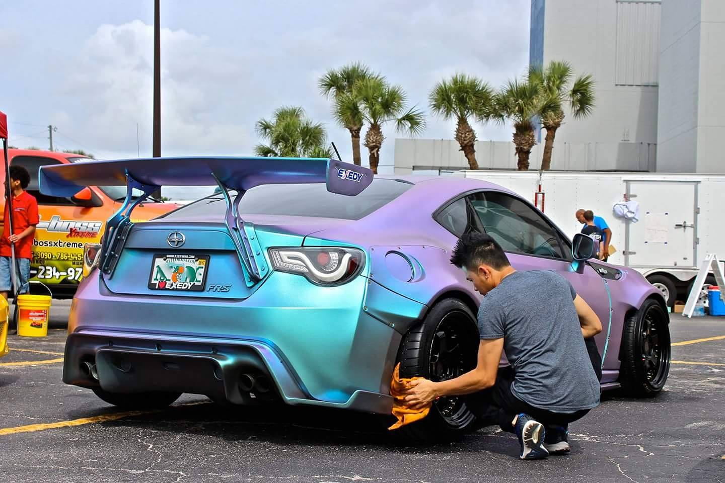Oulay Inthalangsy 2013 Scion FRS TBGLIVE1