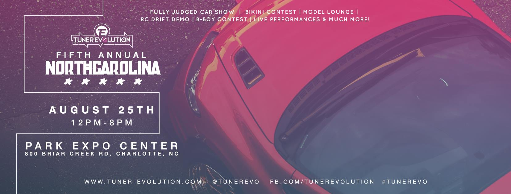 Tuner Evolution 2018 Charlotte NC Flyer