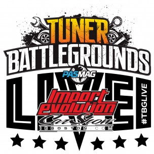 Tuner Battlegrounds TBGLIVE Logo Import Evolution