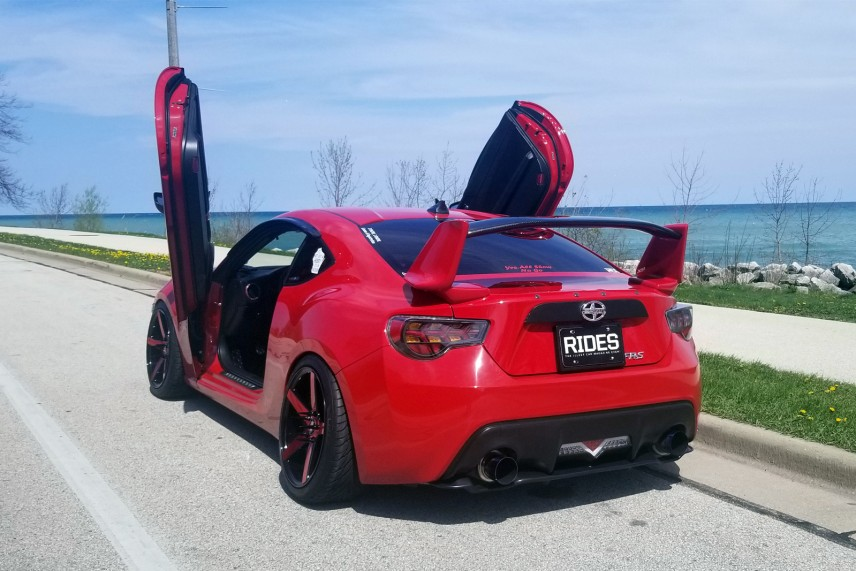Brad Peters 2014 Scion FRS TBGLIVE13